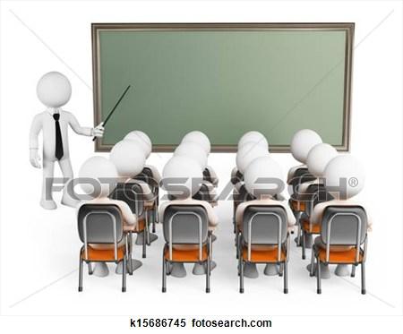 College Classroom Clipart.
