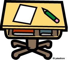 Classroom desk clipart » Clipart Portal.