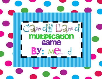 Candy Land Multiplication Game.