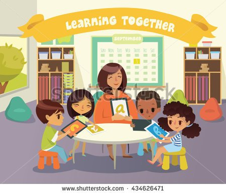 Showing post & media for Group work classroom cartoon.