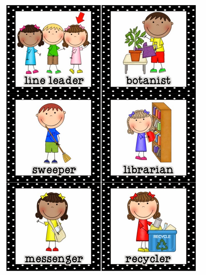 Mrs. Lirette's Learning Detectives: Classroom Helpers Set {FREE}.