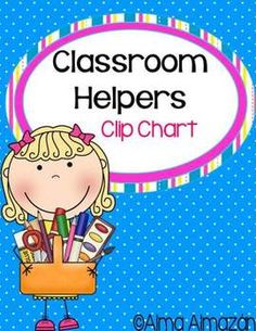Library Helper Clipart.