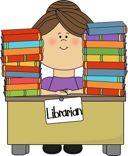 Classroom Helper Clipart Librarian.