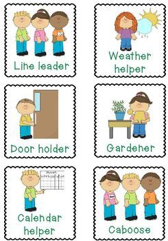 Job Helper Cards.