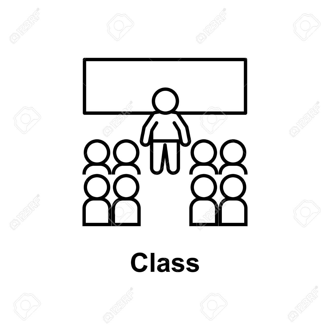 classroom icon vector illustration..