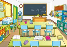 50 Best Classroom Clipart images.