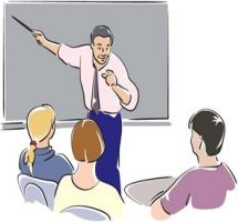 Classroom Lecture Clipart.