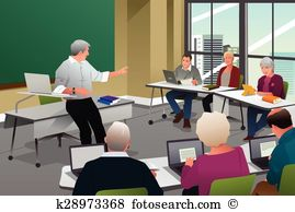 Lecture classroom Clipart and Illustration. 1,539 lecture.