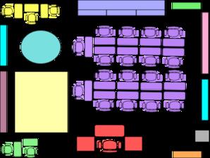 Classroom Map Clipart.
