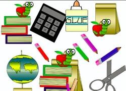 Classroom Materials Clipart.