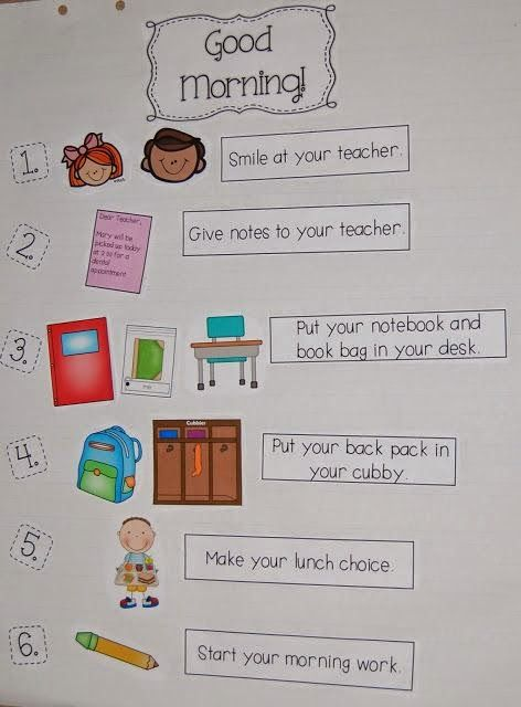 25+ best ideas about Classroom Morning Routine on Pinterest.