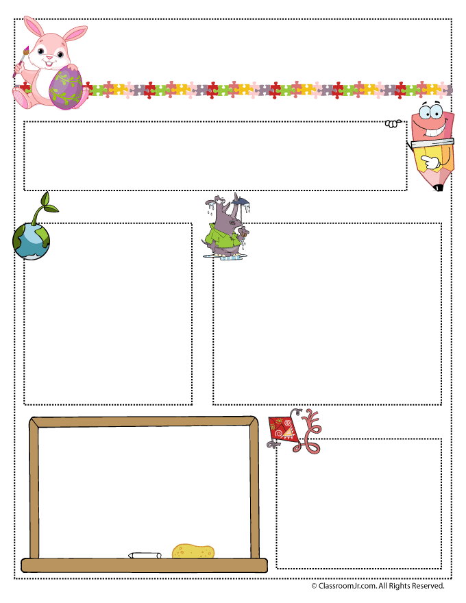 Collection of 14 free Newsletter clipart preschool newsletter bill.