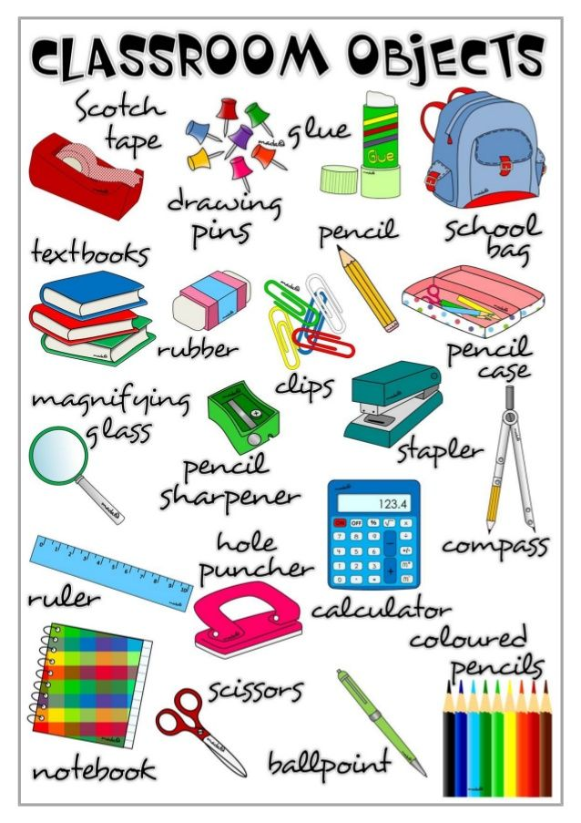 Classroom Objects Clipart 18.
