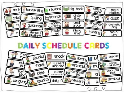 17 Best images about SLP Visual Schedule Freebies on Pinterest.