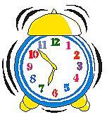 Classroom Schedule Clipart.