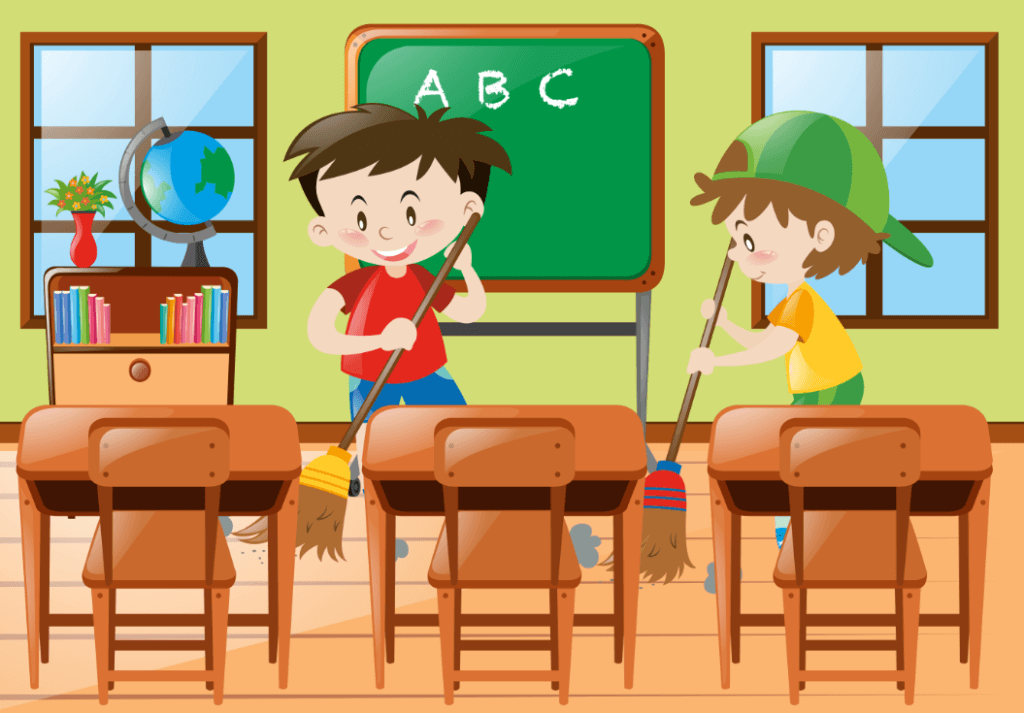 PNG Cleaning Classroom Transparent Cleaning Classroom.PNG Images.