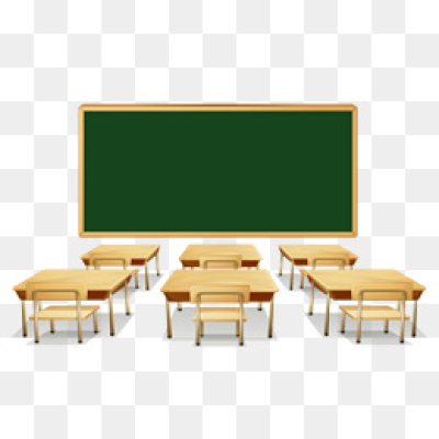 Classroom Clipart PNG Images.