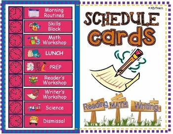 Schedule clipart classroom routine, Schedule classroom.