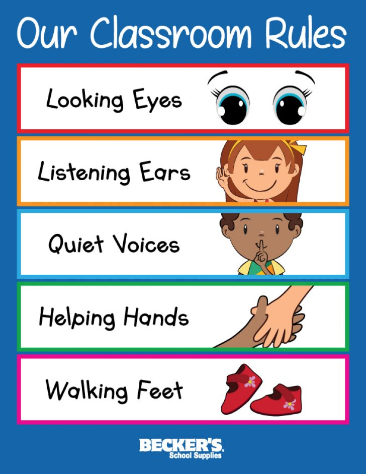 classroom rules images clipart.