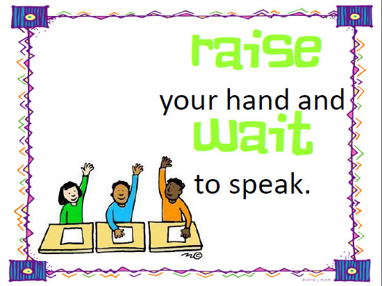Classroom rules clipart 7 » Clipart Station.