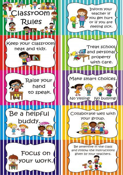 Classroom Rules / Classroom Aggrements.