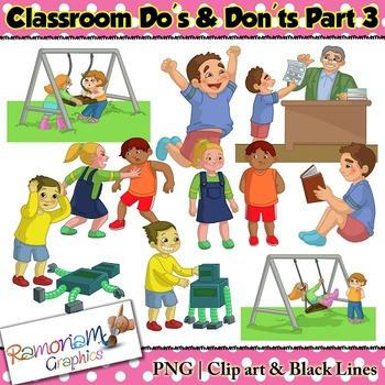 Classroom Rules Clip art.