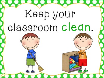 Classroom rules clipart 1 » Clipart Station.