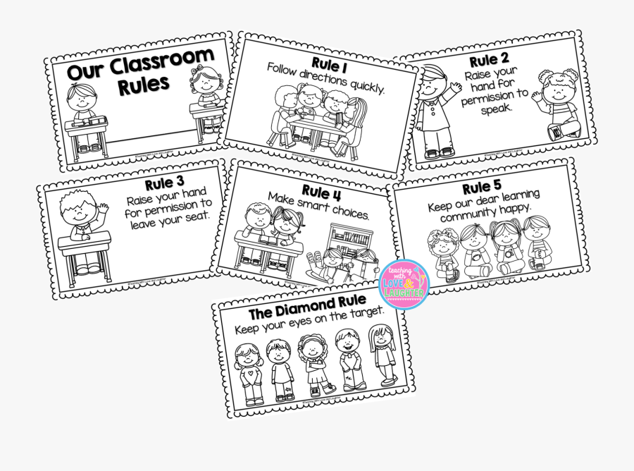 Whole Brain Teaching Rules Booklet , Free Transparent.