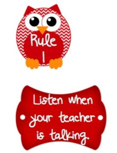 Cute OWLS Classroom Clip Chart, Reading points challenge.