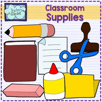 Classroom Supply Clipart Worksheets & Teaching Resources.