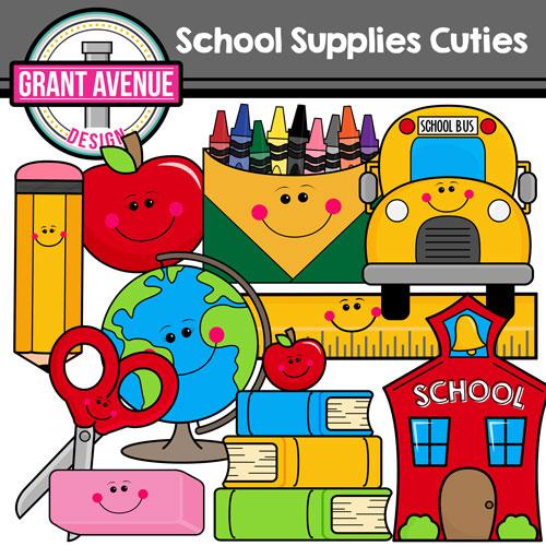 Classroom supplies clipart 3 » Clipart Station.
