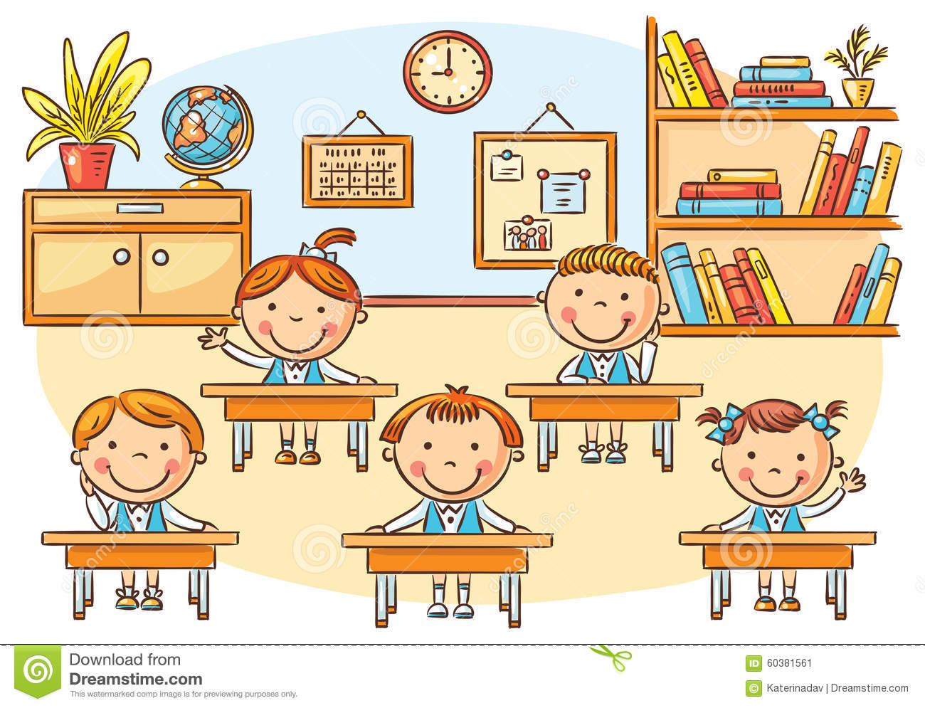 cartoon classroom images reverse search