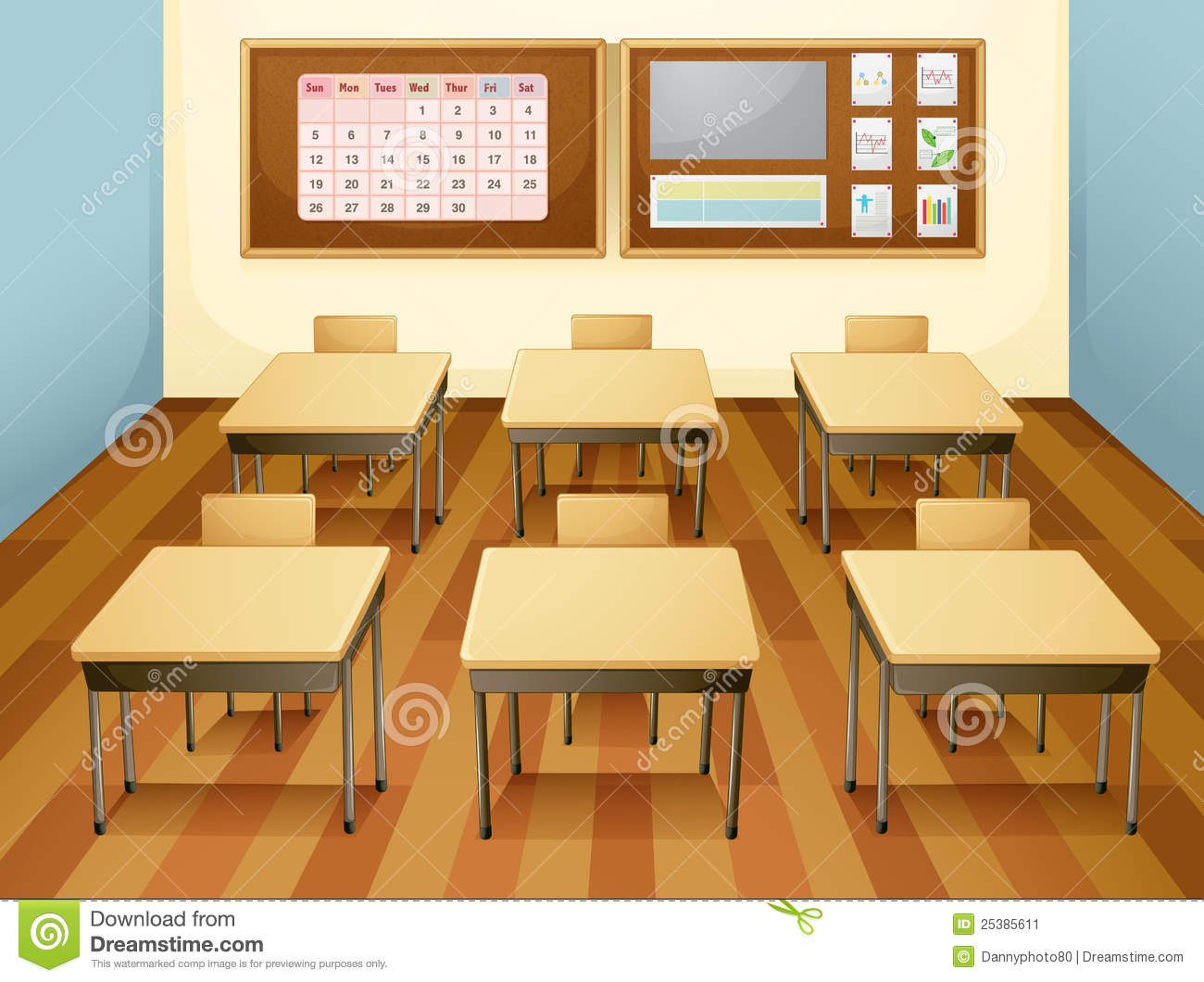 Showing post & media for Cartoon empty classroom clip art.