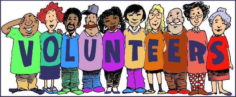 Volunteer Word Cliparts.