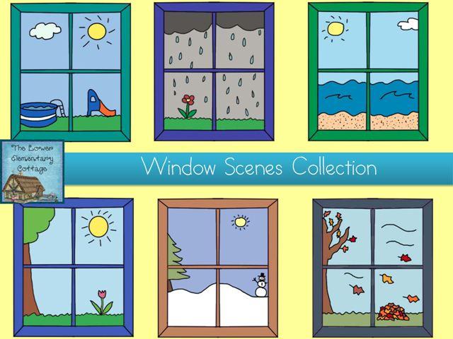 Clipart classroom windows.
