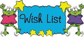 Classroom Wish List Clipart.