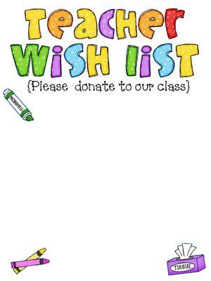 25+ best ideas about Teacher Wish List on Pinterest.