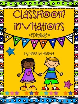 Editable Invitations Worksheets & Teaching Resources.