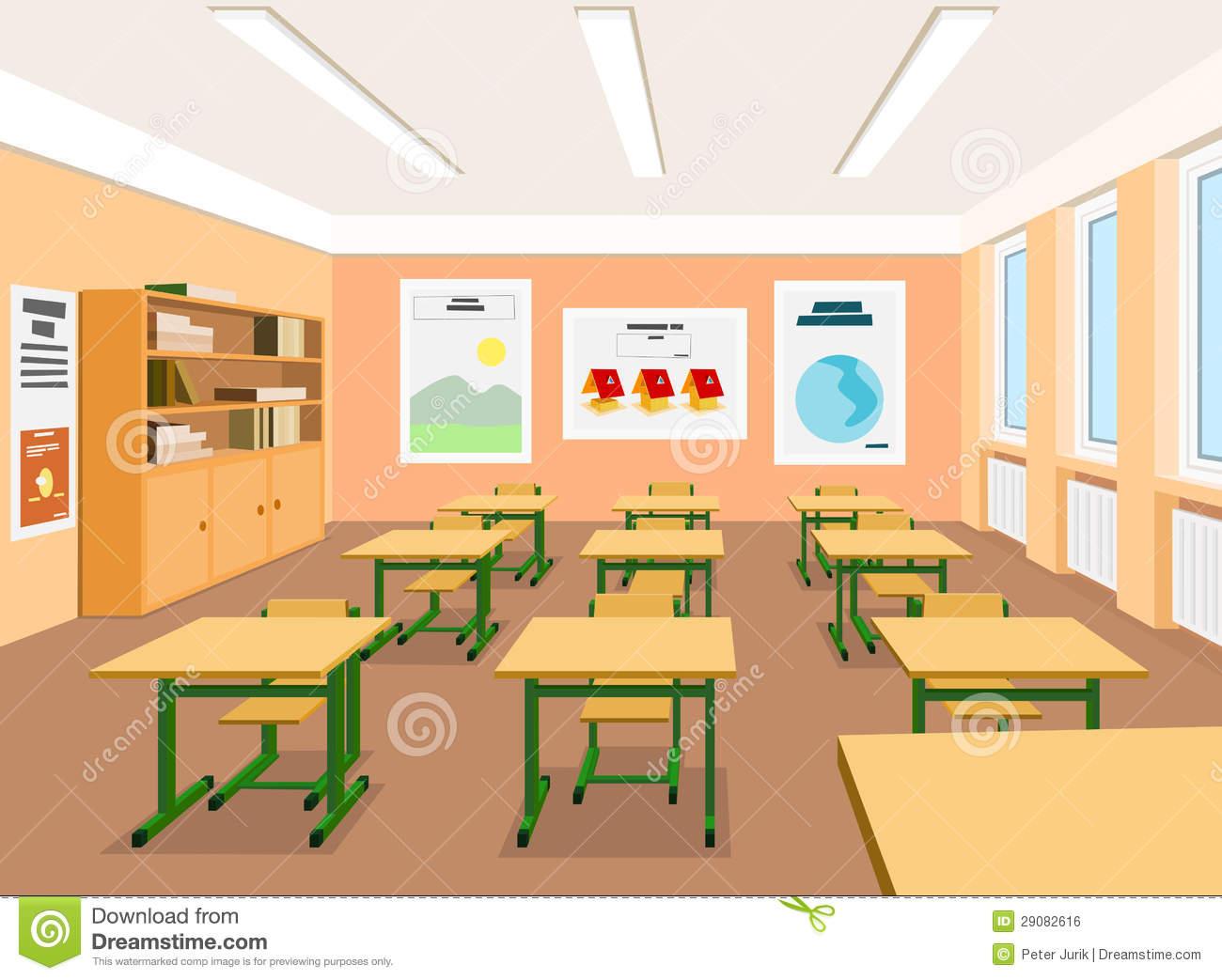 Classrooms clipart.