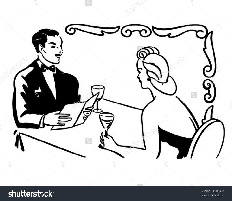 Classy Couple Dining.