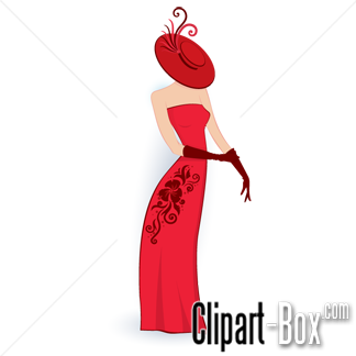 CLIPART CLASSY LADY.