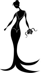Elegant Lady Clipart.
