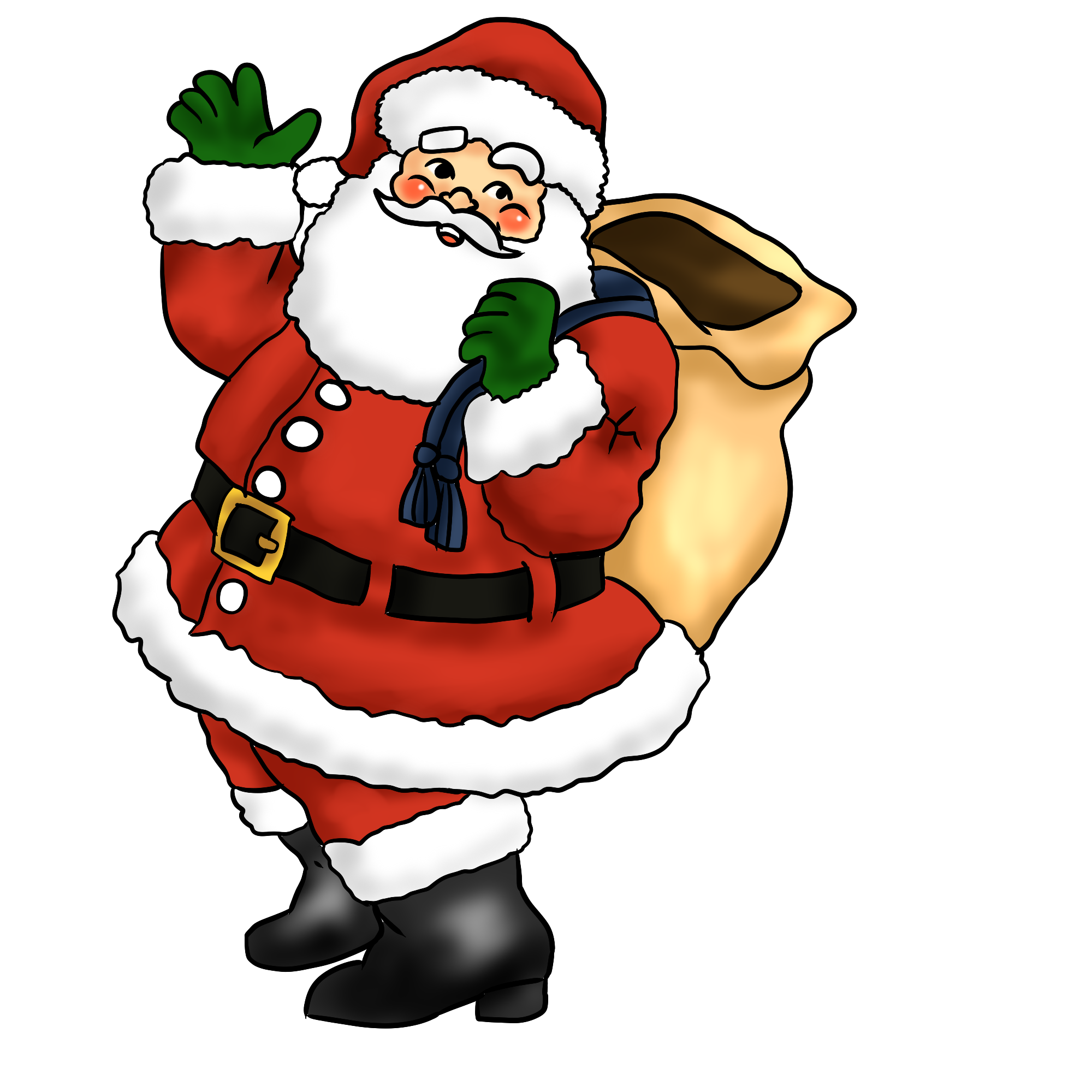 Santa Claus Clip Art & Santa Claus Clip Art Clip Art Images.
