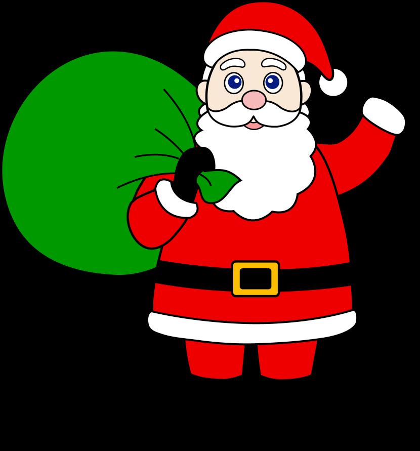 Santa claus clip art pictures.