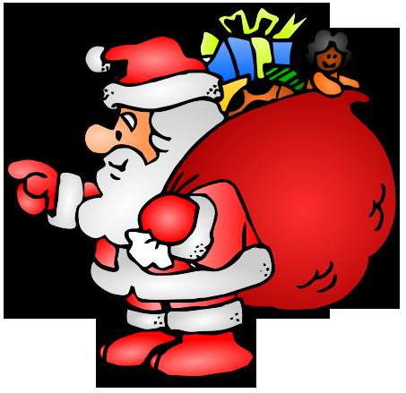 Free Santa Claus Graphics.