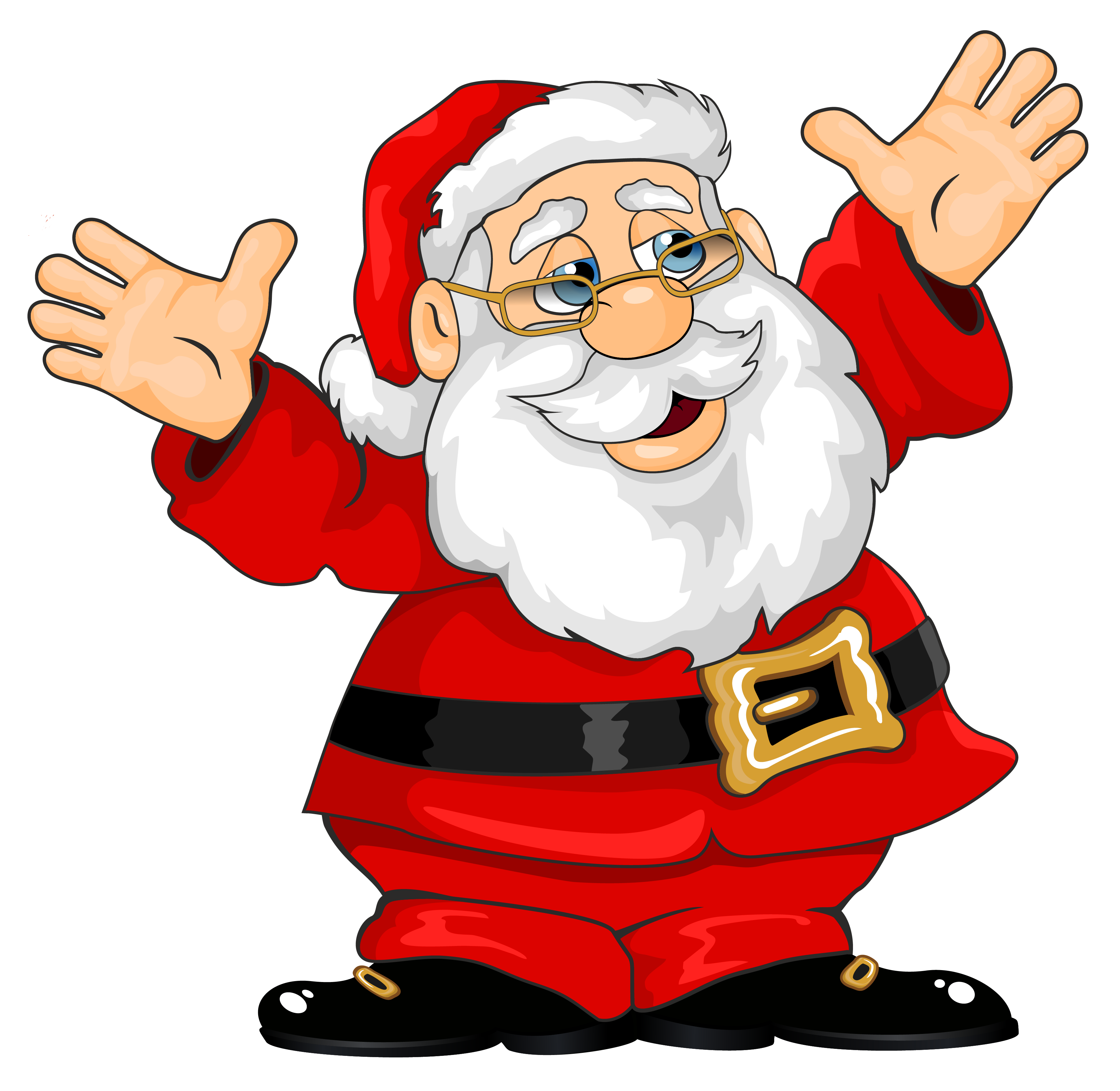 Santa Claus PNG Clipart.