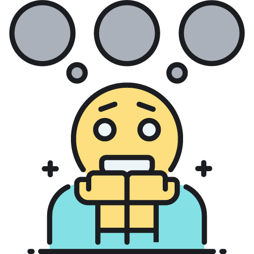 Fear clipart anxiety disorder, Fear anxiety disorder.