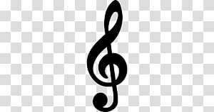 G Clef Musical note Clave de sol, musical note transparent.