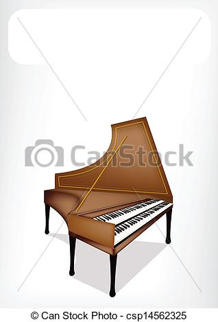 Harpsichord Clip Art and Stock Illustrations. 59 Harpsichord EPS.