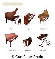 Harpsichord Clip Art and Stock Illustrations. 59 Harpsichord EPS.